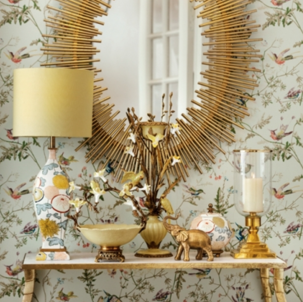 Table lamp Jaune - H52 cm