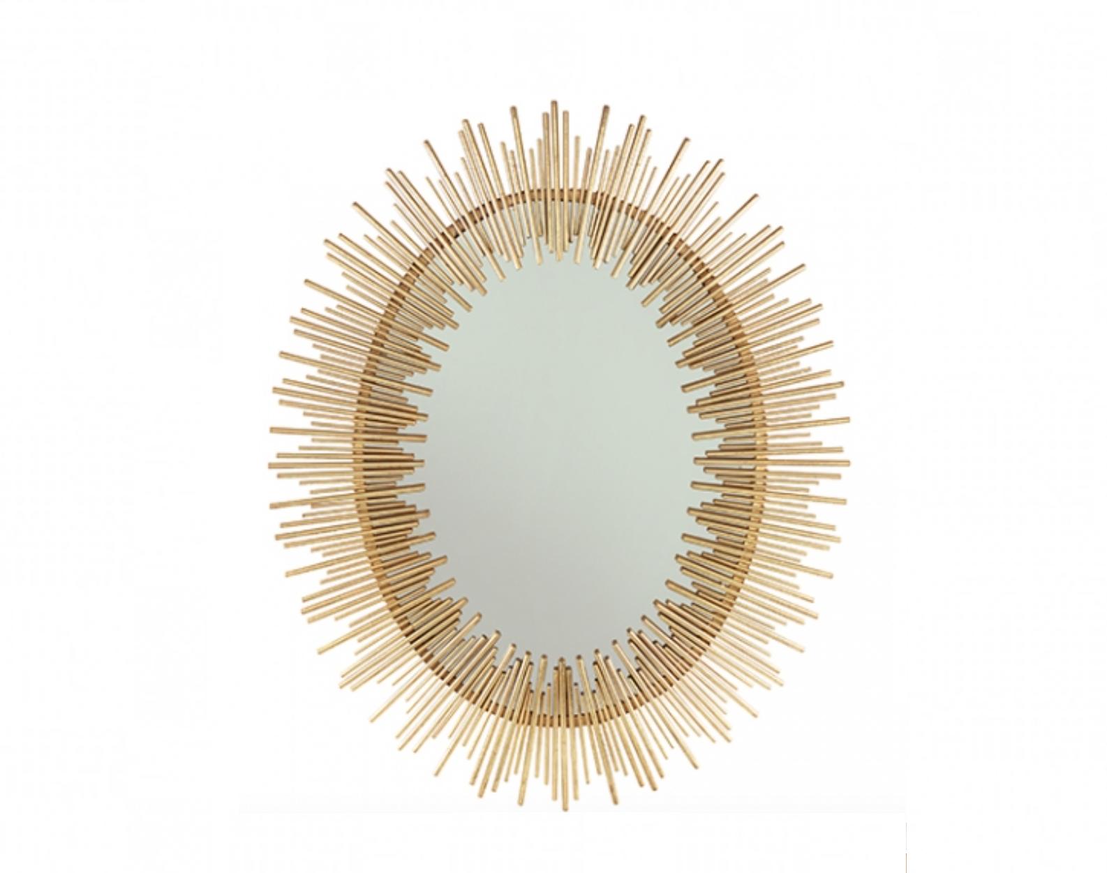 Golden Mirror Fortune - H106 cm
