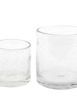 DutZ Votive clear bubbles