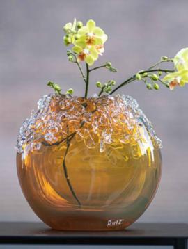 DutZ Goldene Vase Bumpy gold