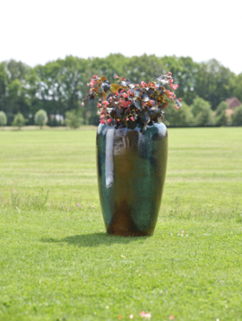 Blue plant pot Odessa