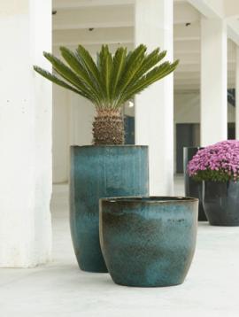 Tall plant pot Lanzarote
