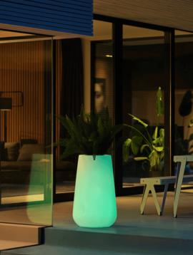 Illuminated planter