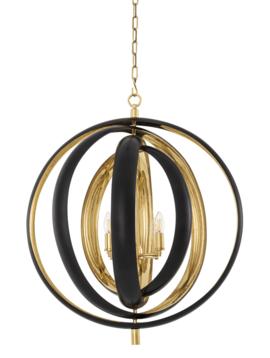Eichholtz Gouden hanglamp Riley