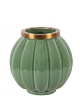 Vase Asian Green