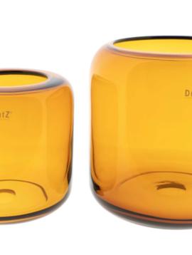 DutZ Vase Mazurka amber