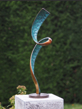 Bronze statue The Spiral