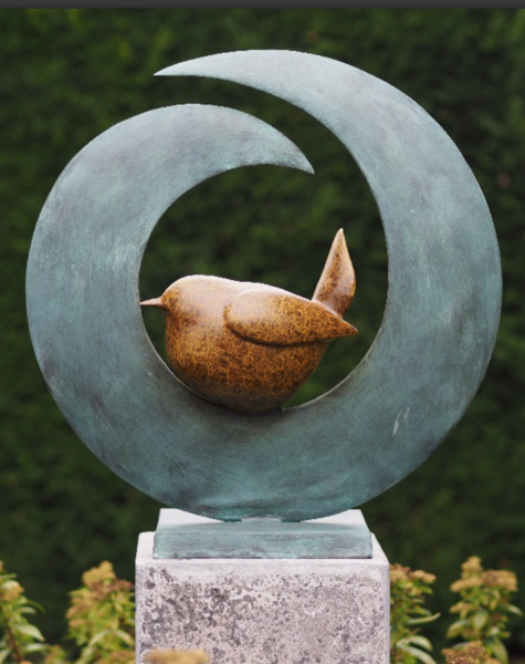 Bronze Bird Statue Statues, Outdoor Bird Statues