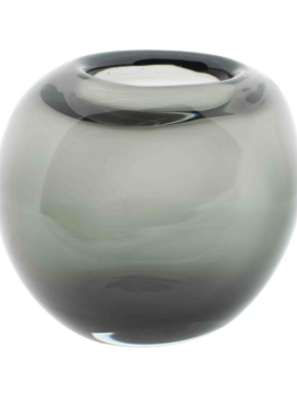 DutZ Vaas oval grijs