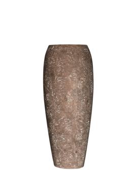 Bruine vaas brown rock