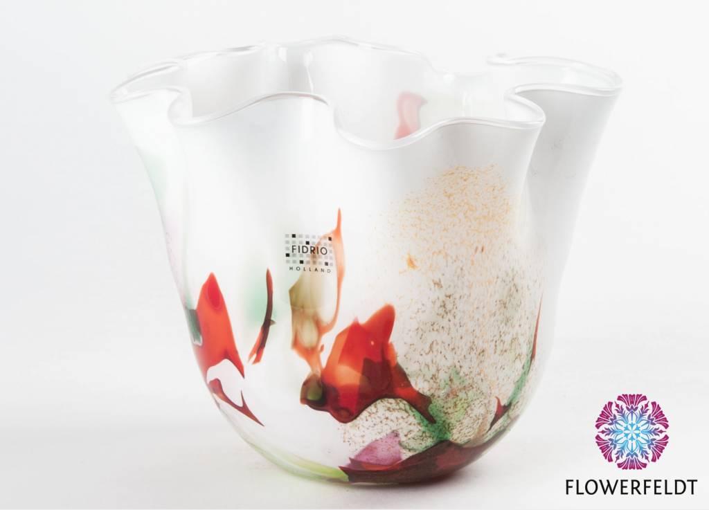 Fidrio Wave vase Mixed Colors - H15/ H29/ H33 cm