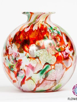 Fidrio Globe vase Mixed Colors