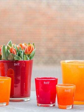 DutZ Conic soft orange vazen