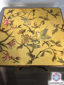 Oud Chinees tafeltje (vierkant)