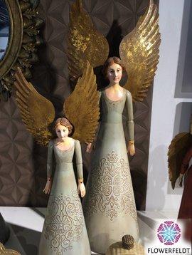 Houten engel groen