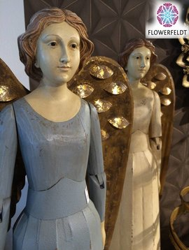 Decoratie engel blauw