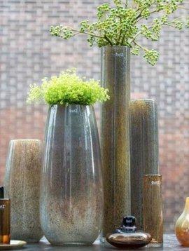 DutZ Zylinder vase tall silverbrown