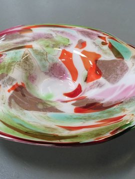 Fidrio Plate Mixed Colors
