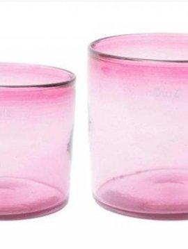 DutZ Cylinder fuchsia vases