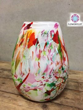 Fidrio Vase Organic Mixed Colors