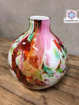 Fidrio Globe vase Mixed Colors Mio