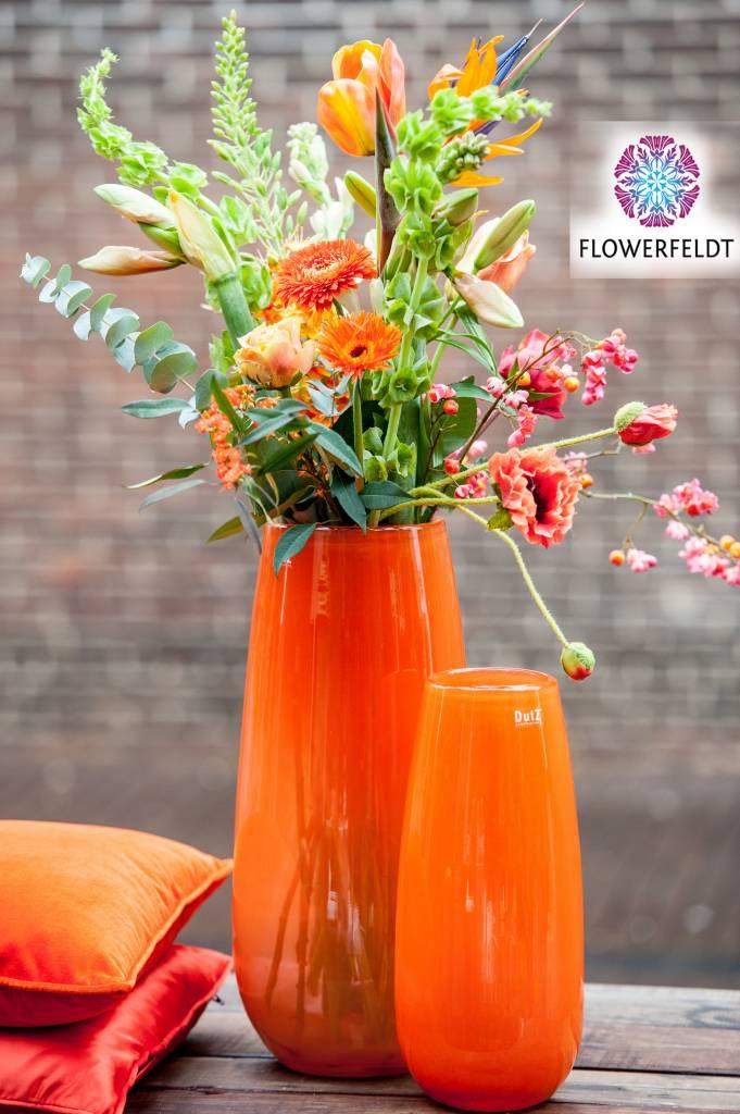 DutZ Vase Robert soft orange - H37,5/ H50 cm