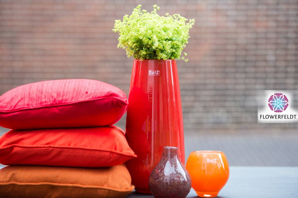 5 Mooie Vazen : Vaas robert red hoge dutz vazen rood kopen? flowerfeldt