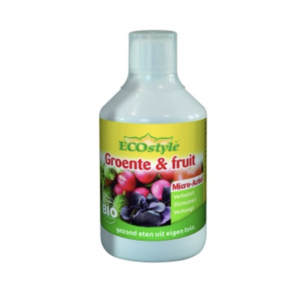 ECOstyle Groente & fruit Micro-Actief conc. 500 ml