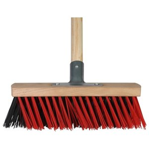 Talen Tools XBezem buiten 30 cm rood/zwart compleet