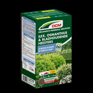 DCM Meststof Ilex, Osmanthus & Bladhoudende Heesters 3 KG