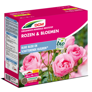 DCM  Meststof Rozen & Bloemen 3 KG