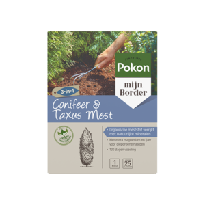 Pokon Conifeer & Taxus Mest 1kg