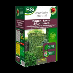 BSI Meststof Bio Hagen, Taxus en Coniferen - 4kg
