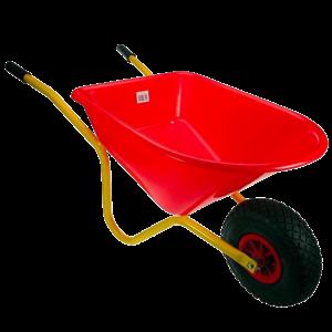 Talen Tools Kinderkruiwagen rood/geel metaal/kunststof