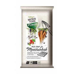 Pokon Moestuinbakken Mix 45L - circa 16.8kg