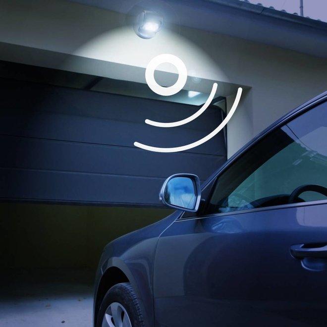 Buitenlamp met bewegingssensor op batterijen