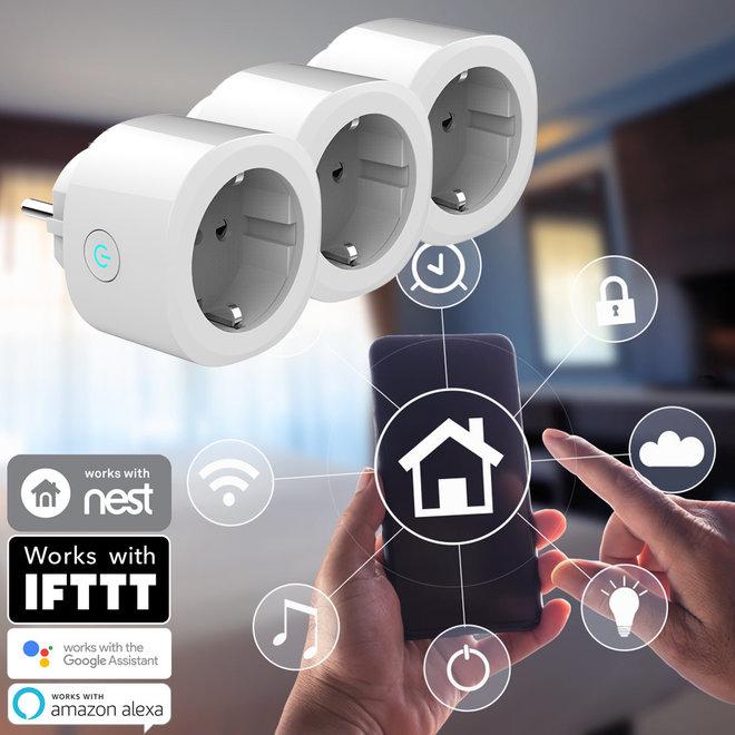 3 Smart Home Stekkers - Bedien alles op afstand met een App