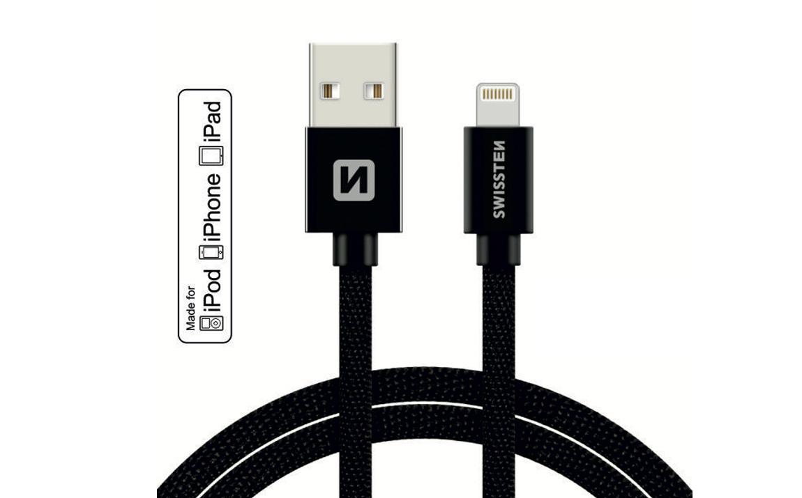 Swissten MFI lightning kabels