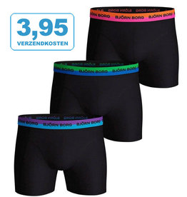 3-Pack Bjorn Borg boxers Neon Solid