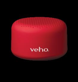 Veho M1 oplaadbare bluetooth speaker 3 watt rood