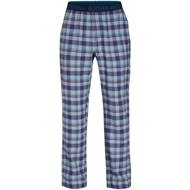 Bjorn Borg pyjamabroek WINTERCHECK blauw