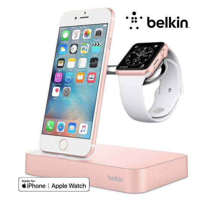 Belkin Valet-oplaaddock voor Apple Watch en iPhone