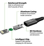 Onverwoestbare Belkin iPhone oplaad- en datakabel