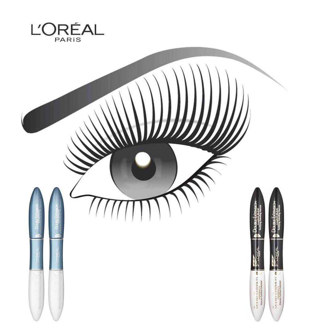 L'Oréal Paris Mascara - Double Extension