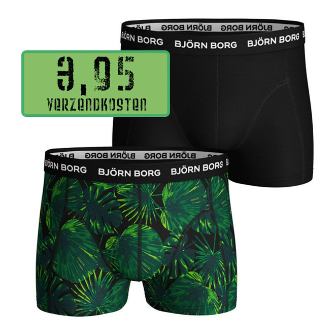2-Pack Bjorn Borg boxers LA GARDEN