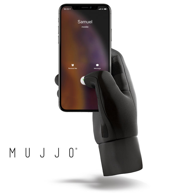 Modieuze Mujjo touchscreen handschoenen