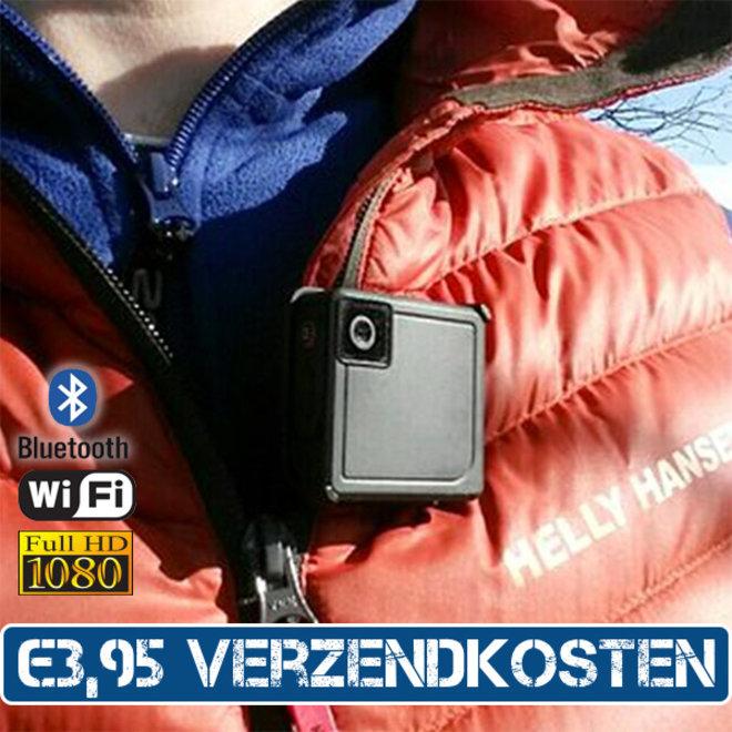 Kleine waterdichte en draagbare iON Full HD camera