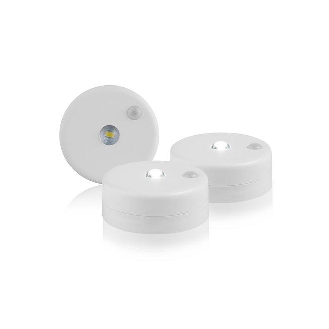 3 Handige LED kast spots