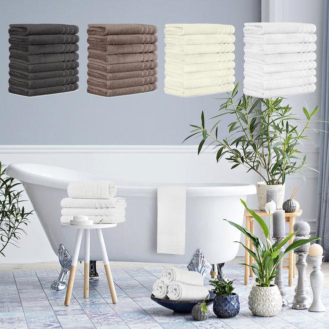 4 of 8 Hotelkwaliteit handdoeken