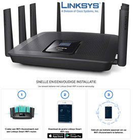Linksys AC WiFi router